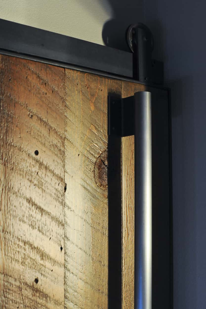 Modern interior sliding barn doors