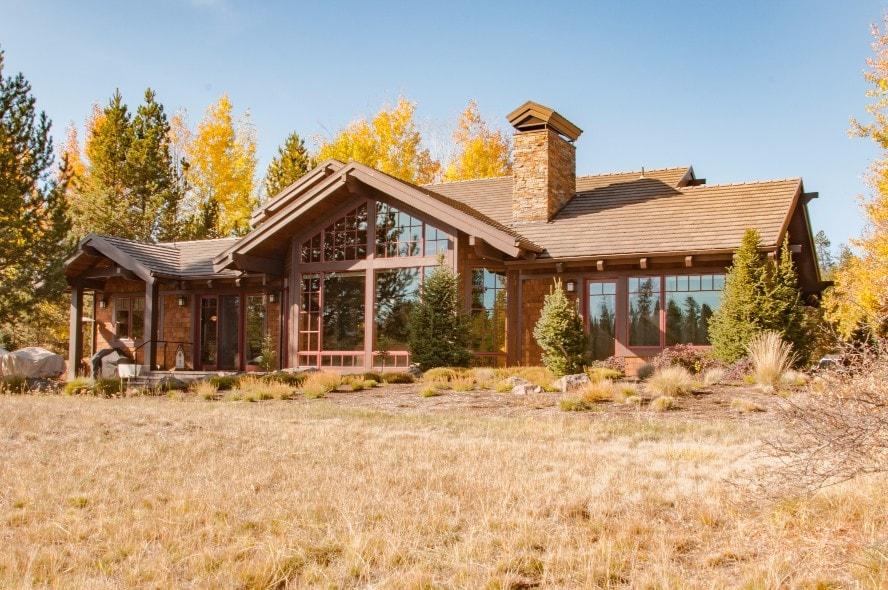 Sunriver Oregon Custom Home Exterior