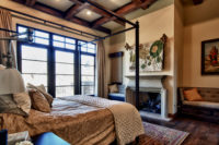 ranch at the canyons custom home master bedroom